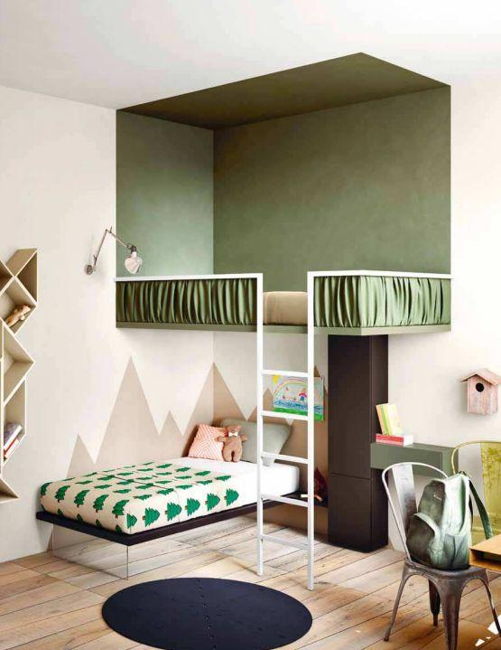 kolory do wspólnego pokoju dzieci