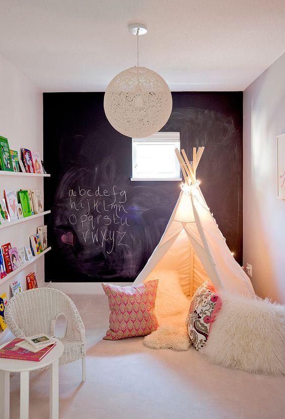 oświetlenie małego pokoju